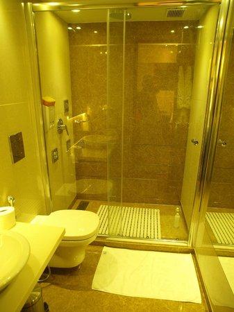 Grand Godwin Hotel: Baño