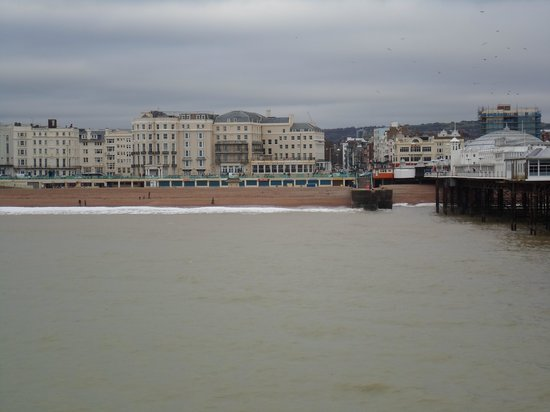 Royal Albion Hotel-Brighton: Royal Albion , seen from the back
