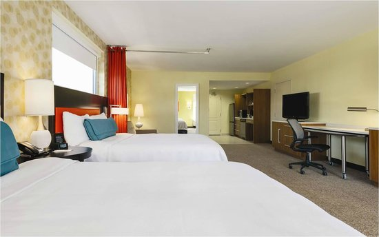 Home2 Suites by Hilton Charlotte I-77 South: Studio 2 Queen Bed Suites