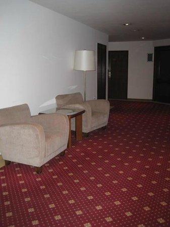 Hotel Ribno: corridoio