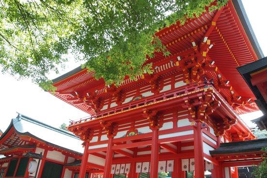 Otsu, Japan: 真っ赤