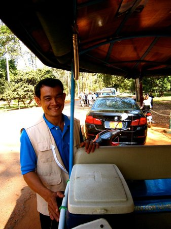 MotherHome Guesthouse: Mr. Small, the best tuktuk driver!