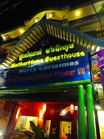 MotherHome Guesthouse: Outside of the hotel