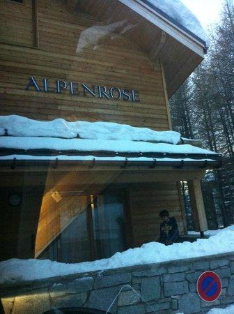 Alpenrose Hotel: L'entrée
