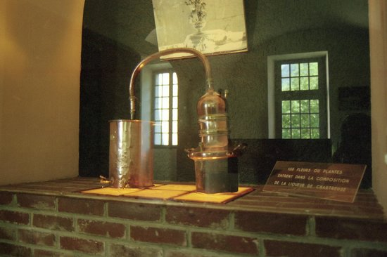 """Musée de la Grande Chartreuse : Hier stoken ze """"Haagse"""" kleuren mee..."""