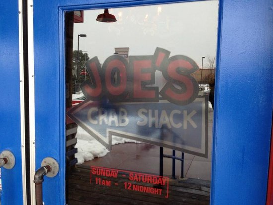 Joes Crab Shack: Welcome to Joes