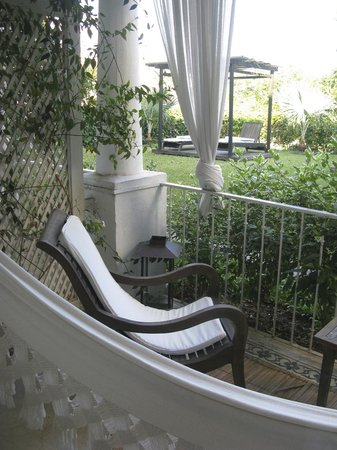 Santa Teresa Hotel RJ MGallery By Sofitel: terrasse chambre
