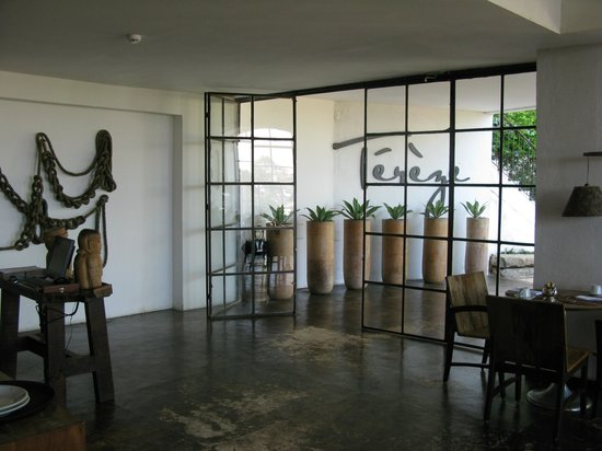 Santa Teresa Hotel RJ MGallery By Sofitel: Entrée restaurant
