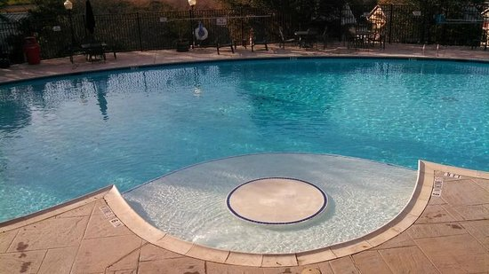 Holiday Inn Club Vacations Hill Country Resort: The outdoor pool by main building, not open for the season