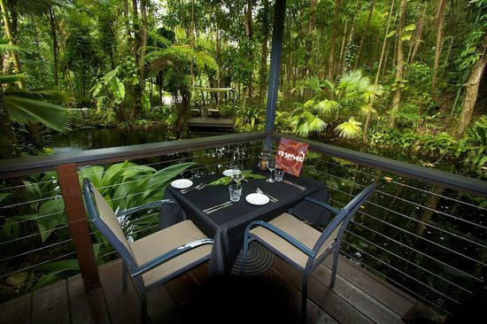 Daintree EcoLodge & Spa: My birthday table
