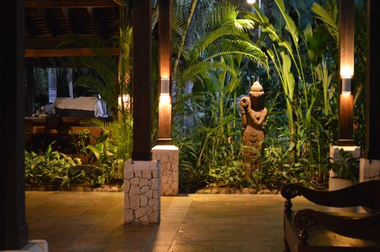 Sunset at the Palms: Zen like atmoshere