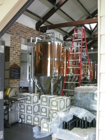 Potters Hotel & Brewery: Brewing the beer