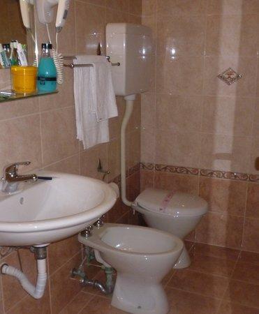 Hotel Parioli: Bagno piccolo ma funzionale