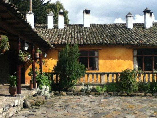 Hacienda San Agustin De Callo: Vista de la casa
