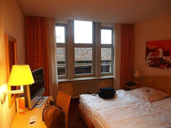 ホテル ヴィクトリア, 宿泊した部屋