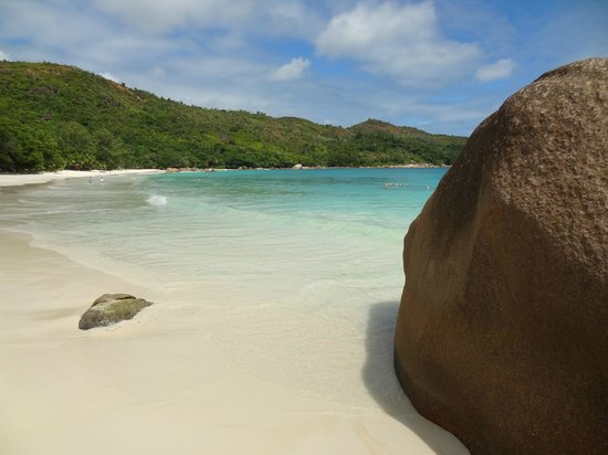 Anse Lazio: Beautiful colours