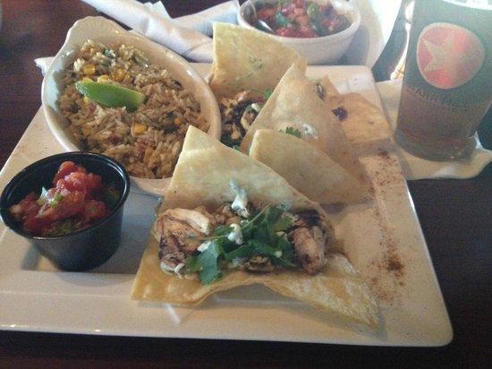 Benjamin's: Rockfish Tacos