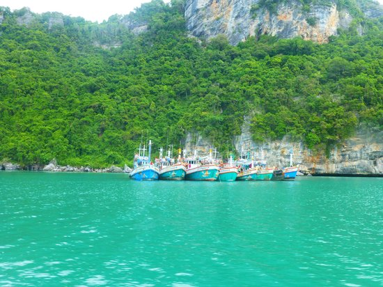 Samui Boat Charter: fishing boats