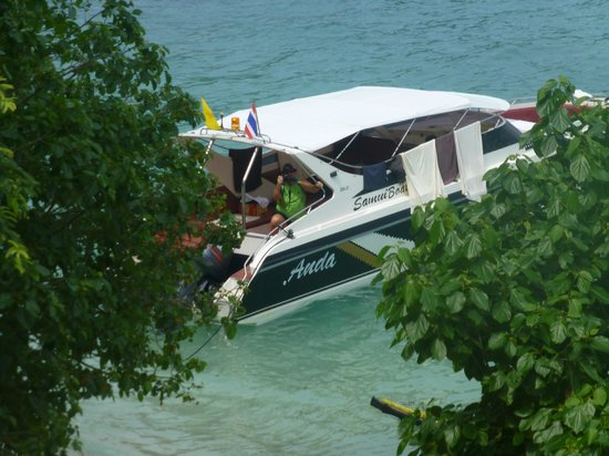 Samui Boat Charter: our boat
