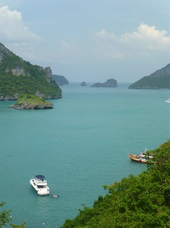 Samui Boat Charter: veiws from the look out