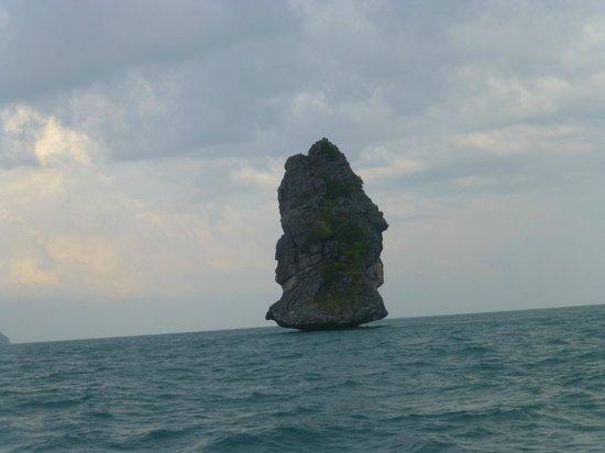 Samui Boat Charter: rocks
