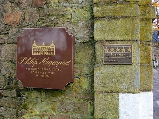 Schlosshotel Hugenpoet: Schloßhotell Hugenpoet