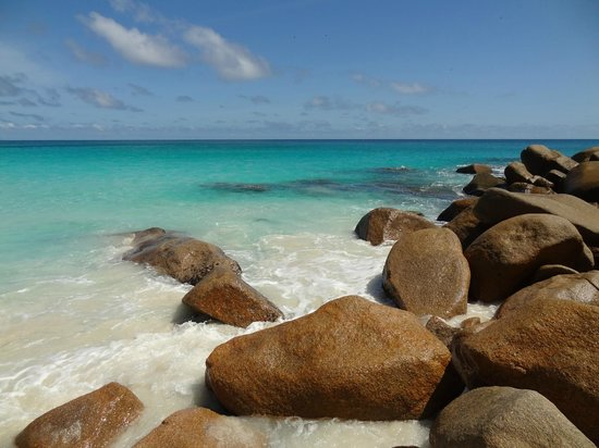 Anse Georgette: See this colours
