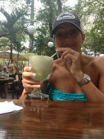 Kelly's Caribbean Bar, Grill and Brewery: Key Lime Colada - YUM!