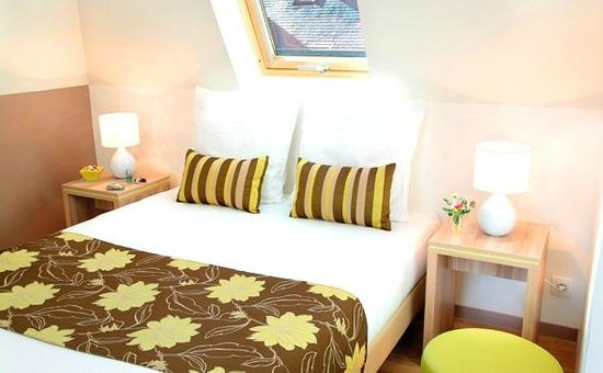 Appart'City Confort Nantes Centre : Park&Suites Elegance Nantes Carre Bouffay - Bedroom