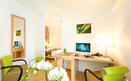 Appart'City Confort Nantes Centre : Park&Suites Elegance Nantes Carre Bouffay - Superior Double Room