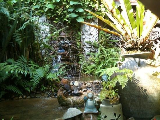 River View Lodge: prachtige tuin