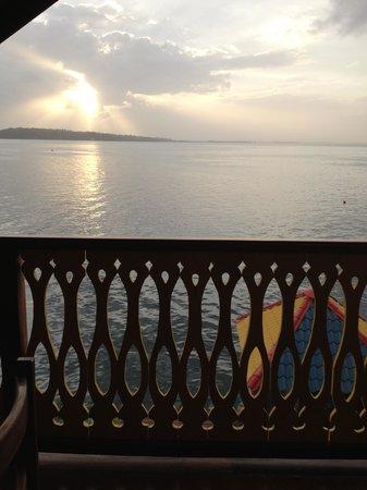 Hotel Bocas del Toro: vista dal terrazzo