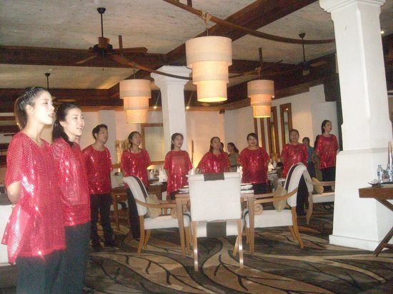 Anantara Hua Hin Resort: Christmas Choir