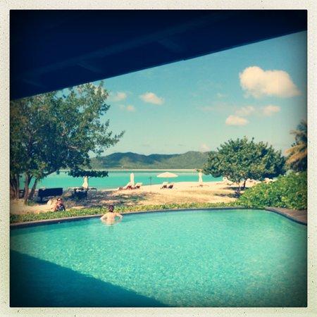 Hermitage Bay: Poolside
