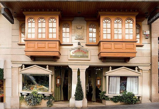 Restaurante Combarro : Fachada principal
