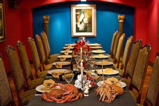 Restaurante Combarro : Salones privados