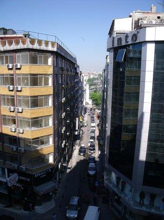Hotel Polatdemir: Uitzicht vanuit kamer