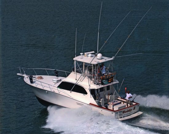 Bobby B Fishing Charters: Luxury, Speed + Experience = A Great Day of Fishing!!!
