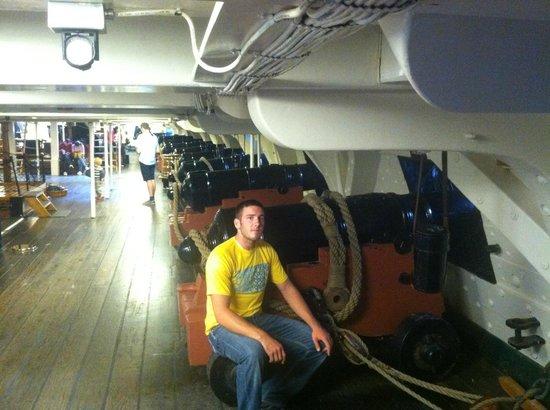 写真USSコンスティテューション号博物館枚