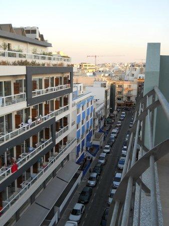 Tropicana Hotel: Vista dal balcone dell'hotel