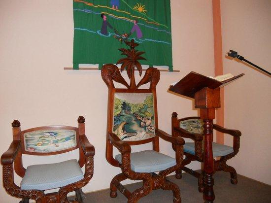 San Jose Church: Iglesia San Jose Presiders Chair