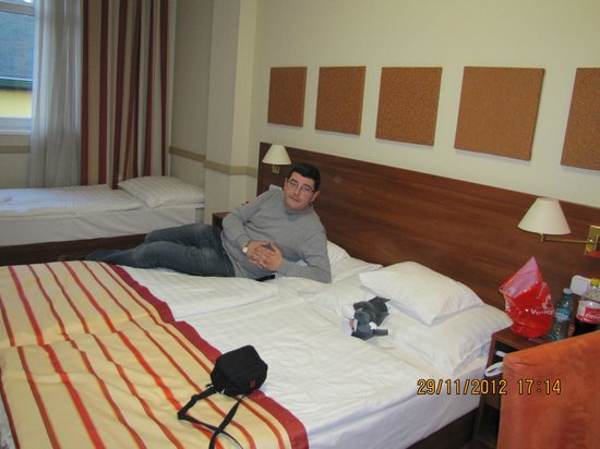 City Inn: excelent bed :)