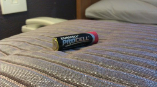 Kilkenny Ormonde Hotel: There was a battery IN OUR BED...no joke