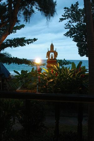 White Sand Resort: fuori dalla finestra