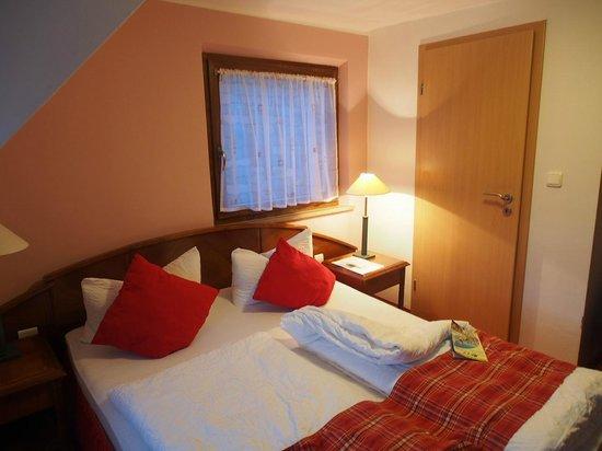 "Hotel ""Am Siebersturm"": 宿泊した部屋"