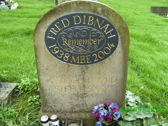 Bolton, UK : Freds resting place.