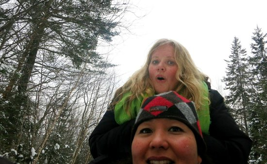 Winterdance Dogsled Tours: SO fun!