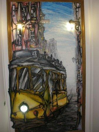 Go Hostel Lisbon: escaleras