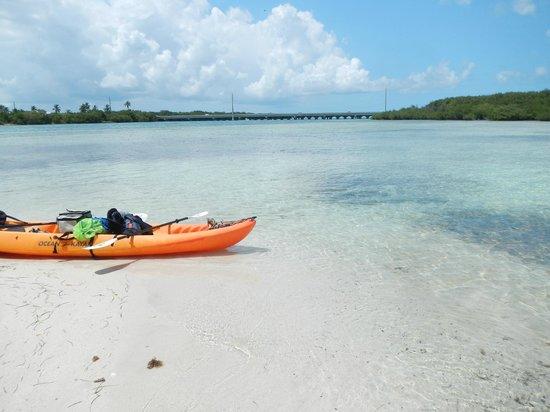Bahia Honda State Park and Beach : Rent a kayak and explore!