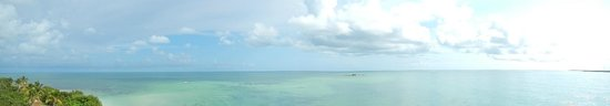 Bahia Honda State Park and Beach : View from the top of the old railroad bridge